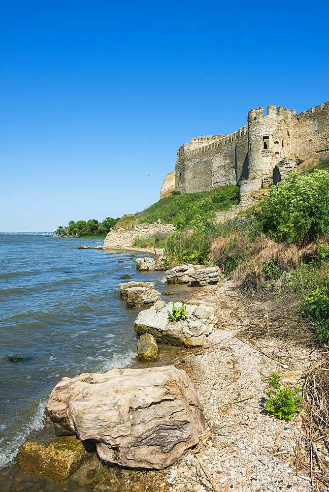 Bilhorod-Dnistrovskyi fortress formerly known as Akkerman on the Black Sea coast, Ukraine, Europe - 1184-2542
