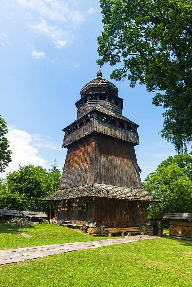 Unesco world heritage sight the wooden St. George's Church, Drohobych, Ukraine - 1184-2547