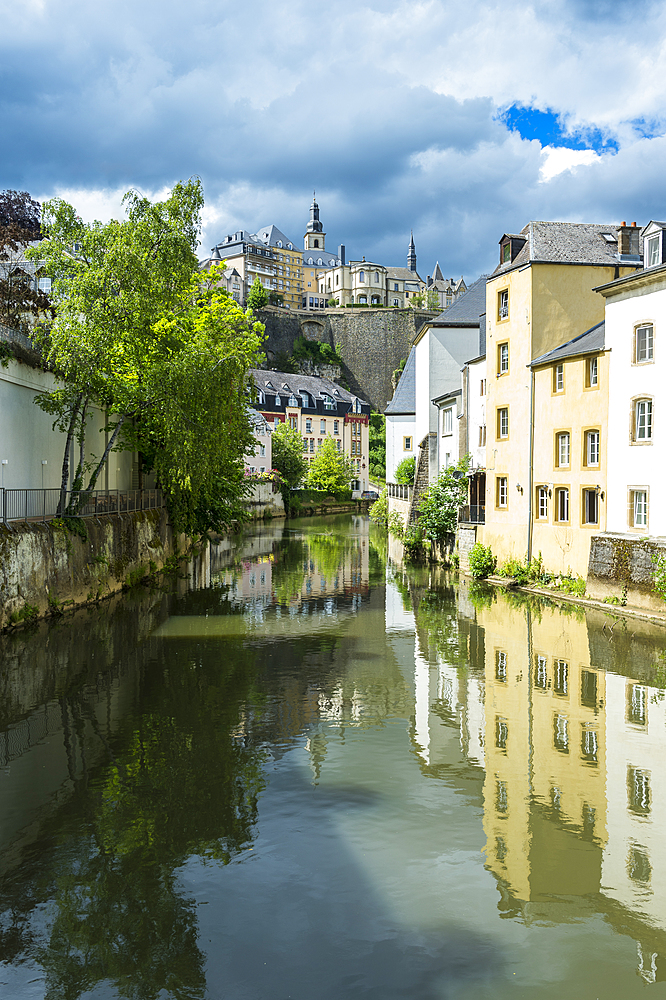 Unesco world heritage sight the old quarter of Luxembourg, Luxembourg