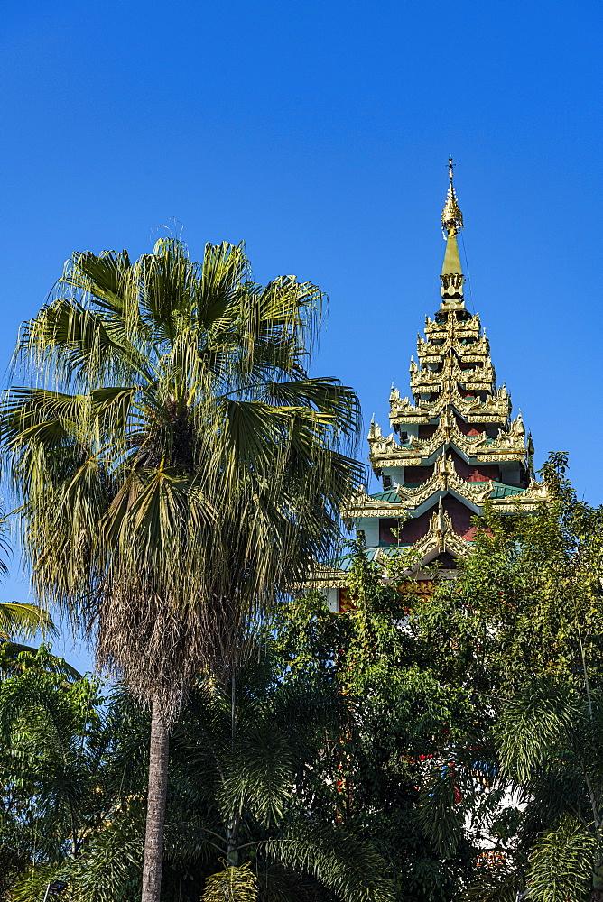Shree Ramjanki Temple, Myitkyina, Kachin state, Myanmar (Burma), Asia