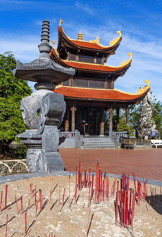 Ho Quoc Pagoda Buddhist temple, island of Phu Quoc, Vietnam, Indochina, Southeast Asia, Asia