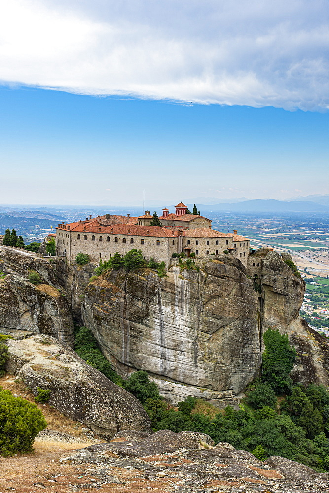 Holy Monastery of St. Stephen, Unesco world heritage site Meteora monateries, Greece - 1184-4429