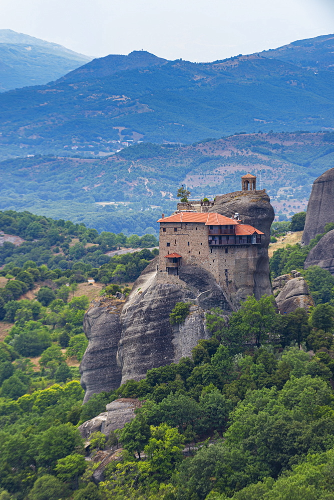 Holy Monastery of St. Nicholas Anapafsas, Unesco world heritage site Meteora monateries, Greece - 1184-4431