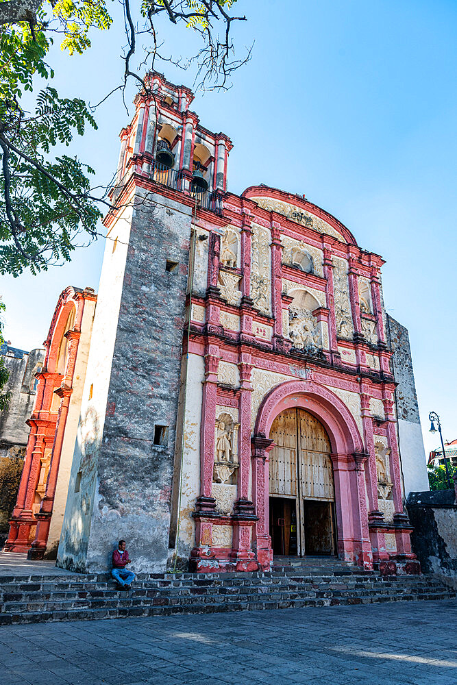 Cathedral of Cuernavaca, Unesco site Earliest 16th-century monasteries on the slopes of Popocatépetl, Mexico - 1184-5332