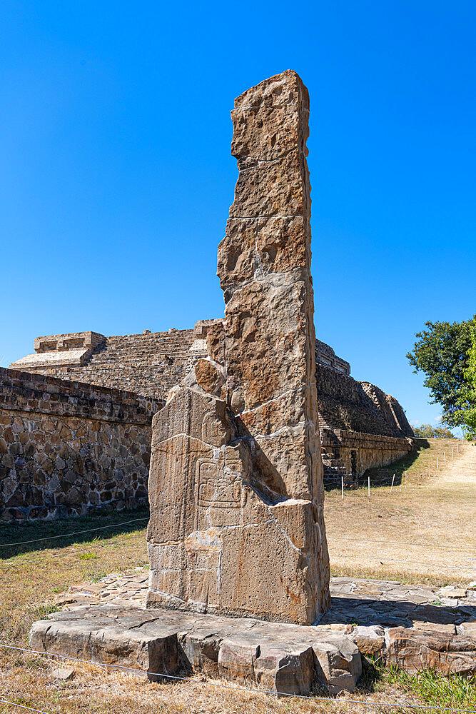 Unesco world heritage site Monte Alban, Oaxaca, Mexico - 1184-5481