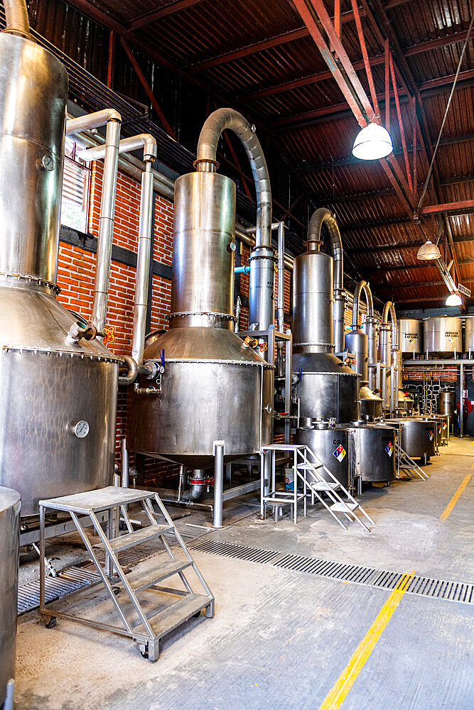 Distillery in the Tequila Factory La Cofradia, UNESCO World Heritage Site, Tequila, Jalisco, Mexico, North America - 1184-5540