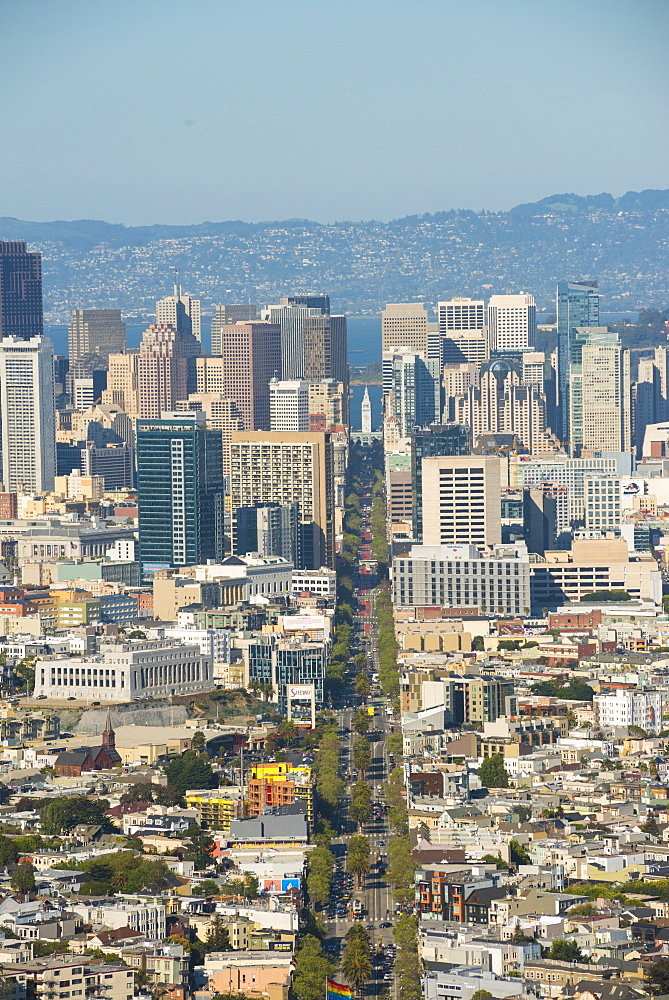 View of the city from Twin Peaks San Francisco, California, United States