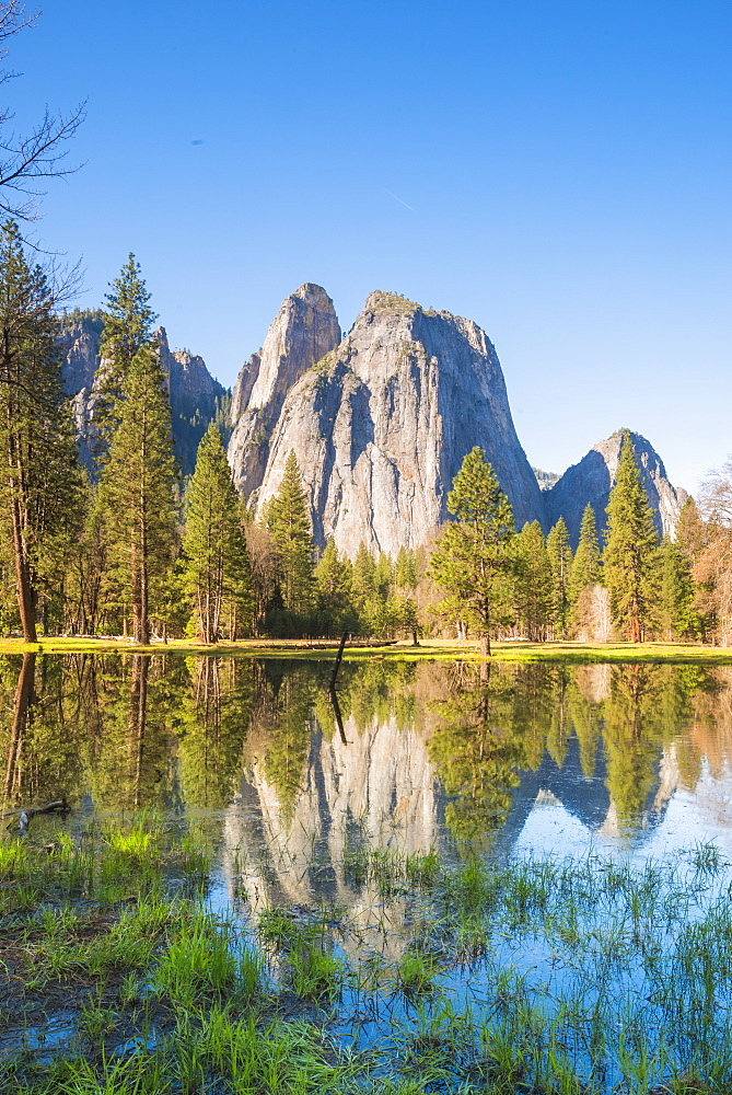 Yosemite National Park, UNESCO World Heritage Site, California, United States of America, North America