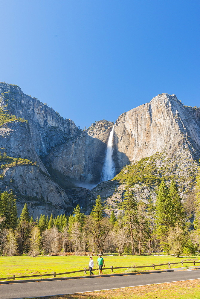 Yosemite falls, Yosemite National Park, California, USA