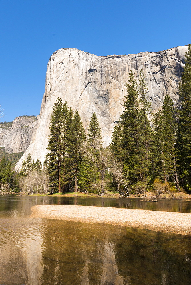 El Capitan, Yosemite National Park, UNESCO World Heritage Site, California, United States of America, North America