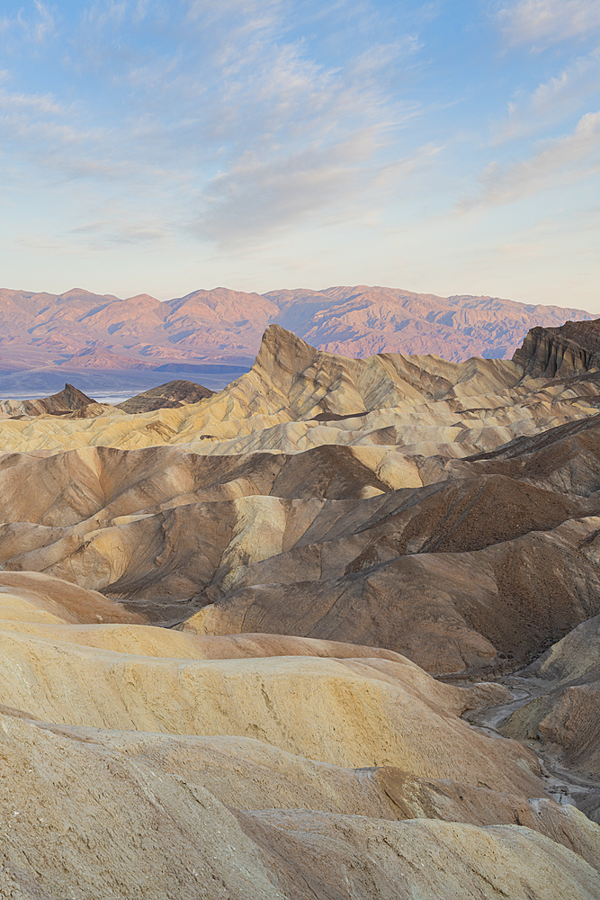 Zabriskie Point, Death Valley National Park, California, United States of America, North America - 1186-1135