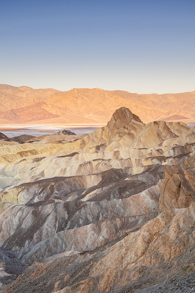 Zabriskie Point in Death Valley National Park, California, United States of America, North America - 1186-1141