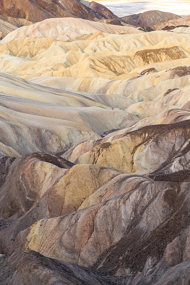 Zabriskie Point in Death Valley National Park, California, United States of America, North America - 1186-1144
