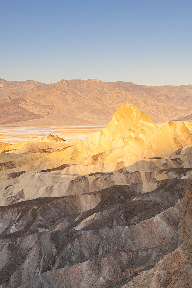 Zabriskie Point in Death Valley National Park, California, United States of America, North America - 1186-1145