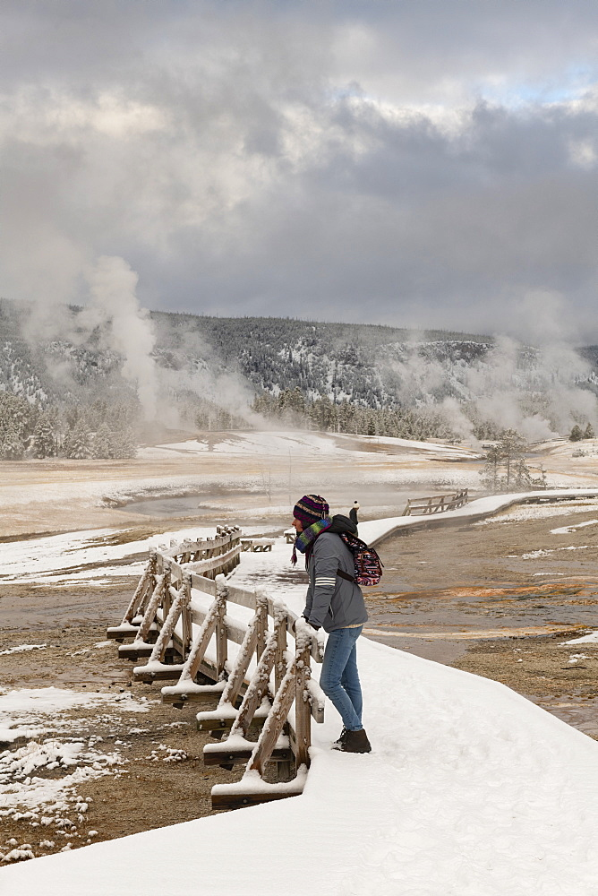 Yellowstone National Park, UNESCO World Heritage Site, Wyoming, United States of America, North America