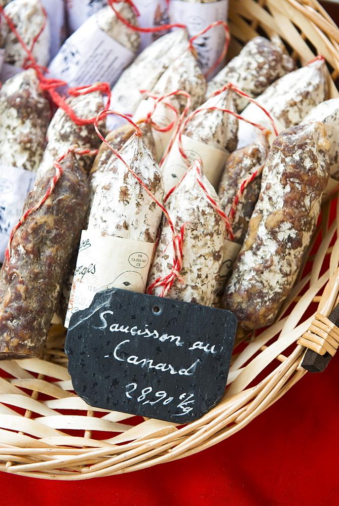 Meat market, Aix en Provence, Bouches du Rhone, Provence, Provence-Alpes-Cote d'Azur, France, Europe