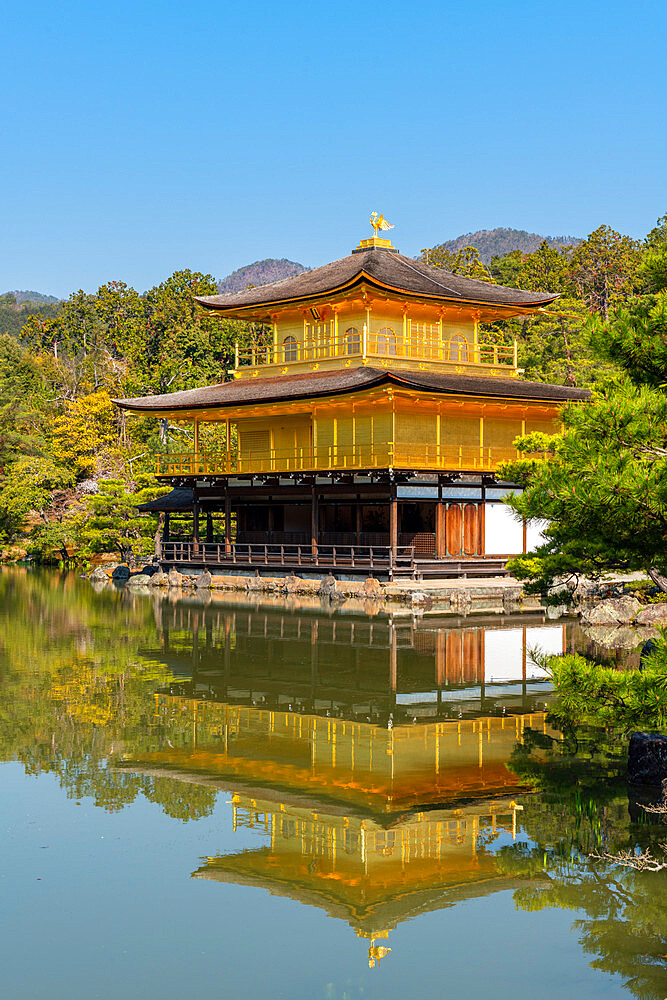 Kinkaku-ji temple Kyoto - 1186-820