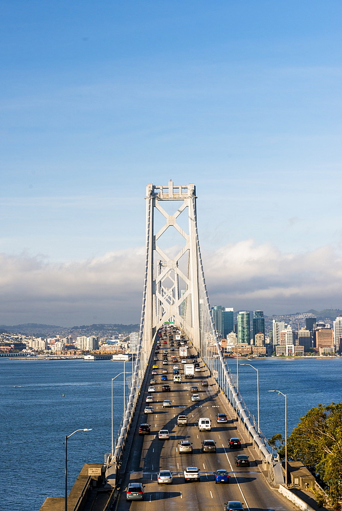 Oakland Bay Bridge, San Francisco, California, United States of America, North America