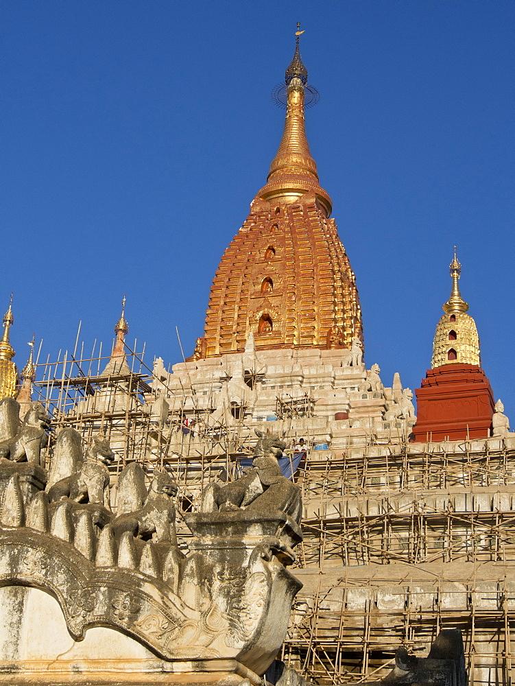 Buddhist temples of Bagan (Pagan), Myanmar (Burma), Asia