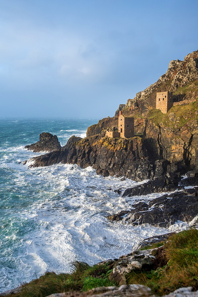 Tin Mines, Cornwall, England, United Kingdom, Europe