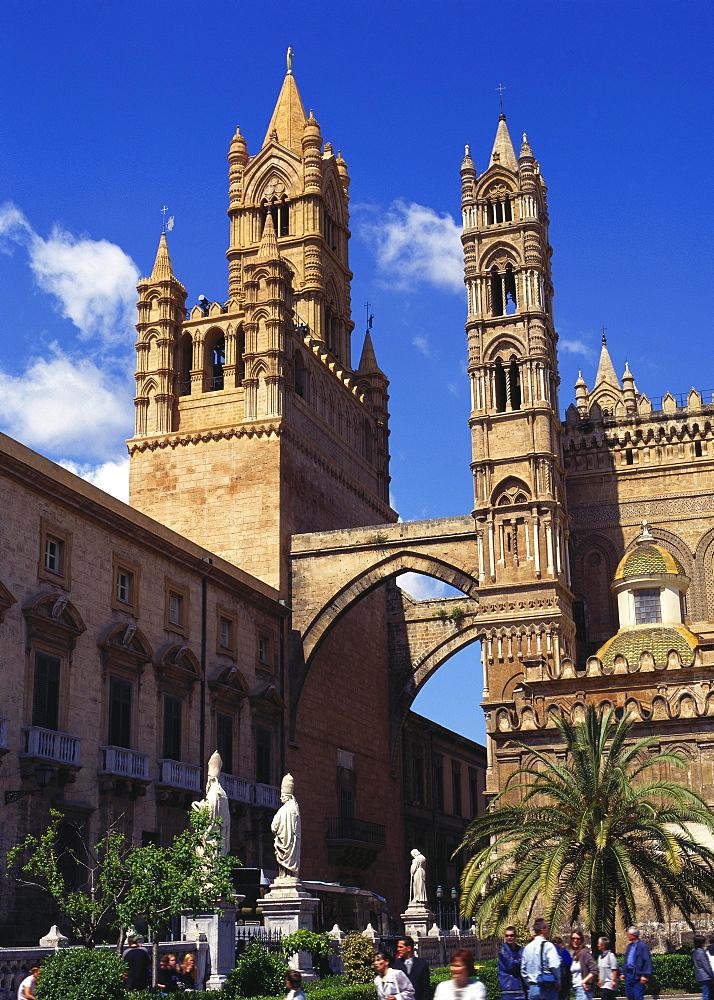 Palazzo Arcivescovile, Palermo, Sicily - 120-4253