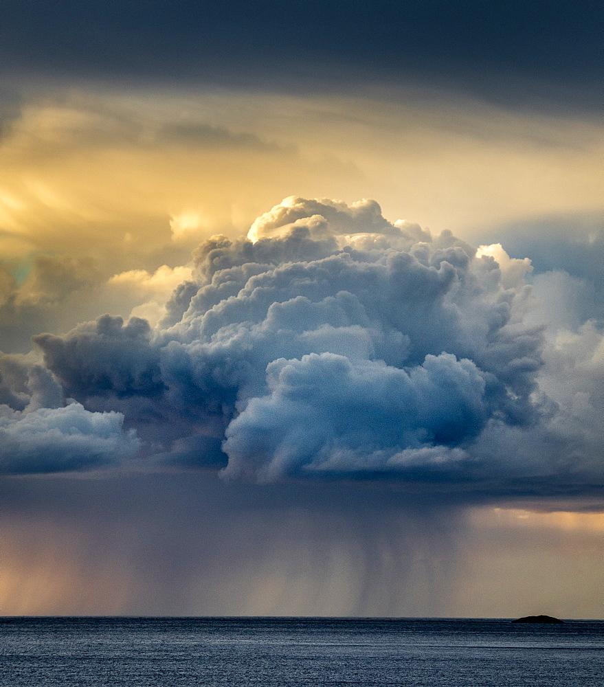 Rain cloud, Senja, Norway.
