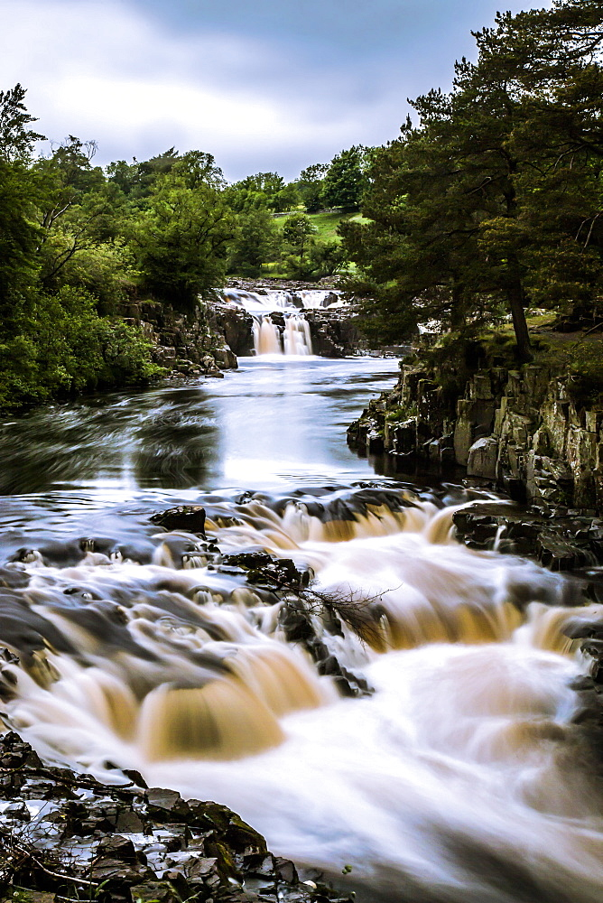 Low Force waterfall, Teesdale, England, United Kingdom, Europe - 1204-20