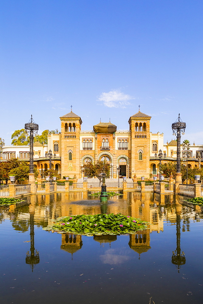 Museum of Popular Arts and Traditions in Maria Luisa Park, Seville, Andalusia, Spain, Europe - 1207-214