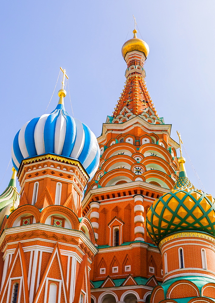 The Cathedral of Vasily the Blessed, Saint Basil's Cathedral, Moscow, Russia, Europe - 1207-465