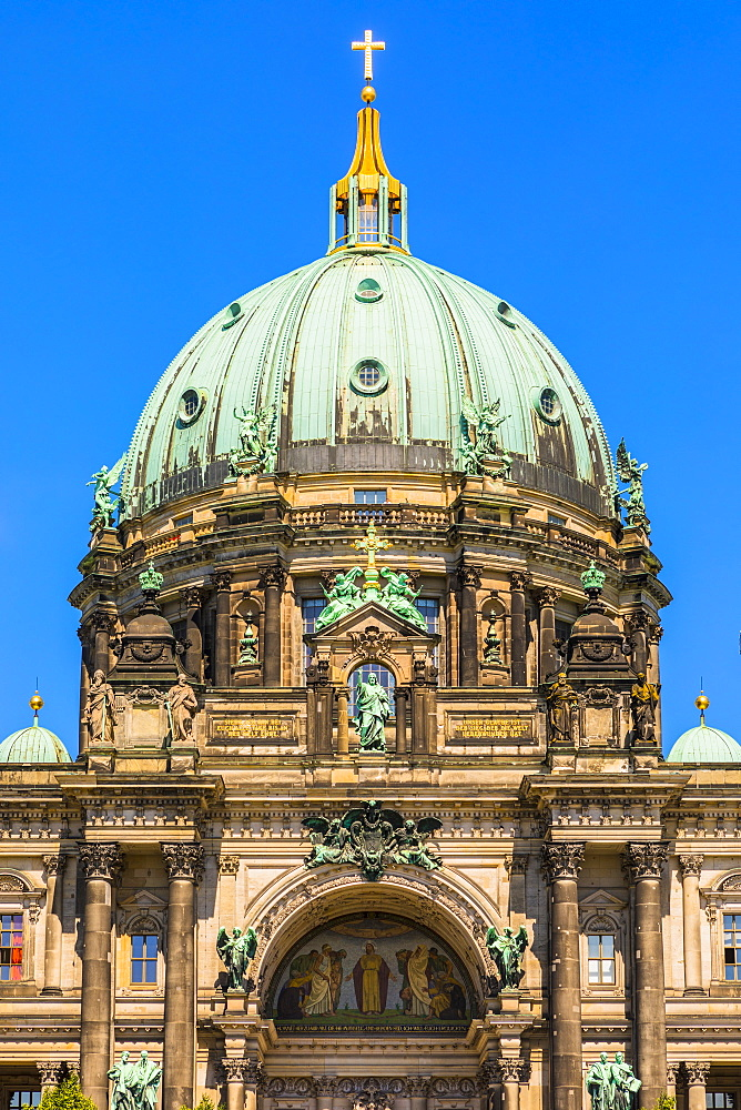 Berliner Dom (Berlin Cathedral) on the River Spree, Berlin, Germany, Europe - 1207-543