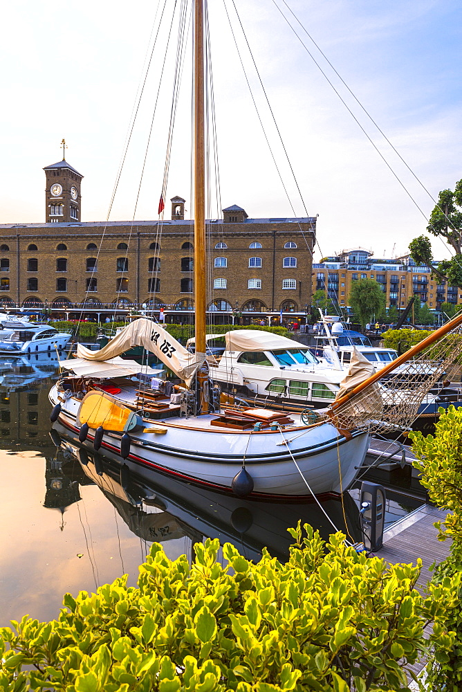 St Katharine's Dock, London, England, United Kingdom, Europe - 1207-580