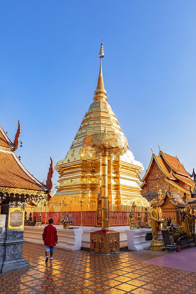 Wat Phra That Doi Suthep, Chiang Mai, Thailand, Southeast Asia, Asia - 1207-671