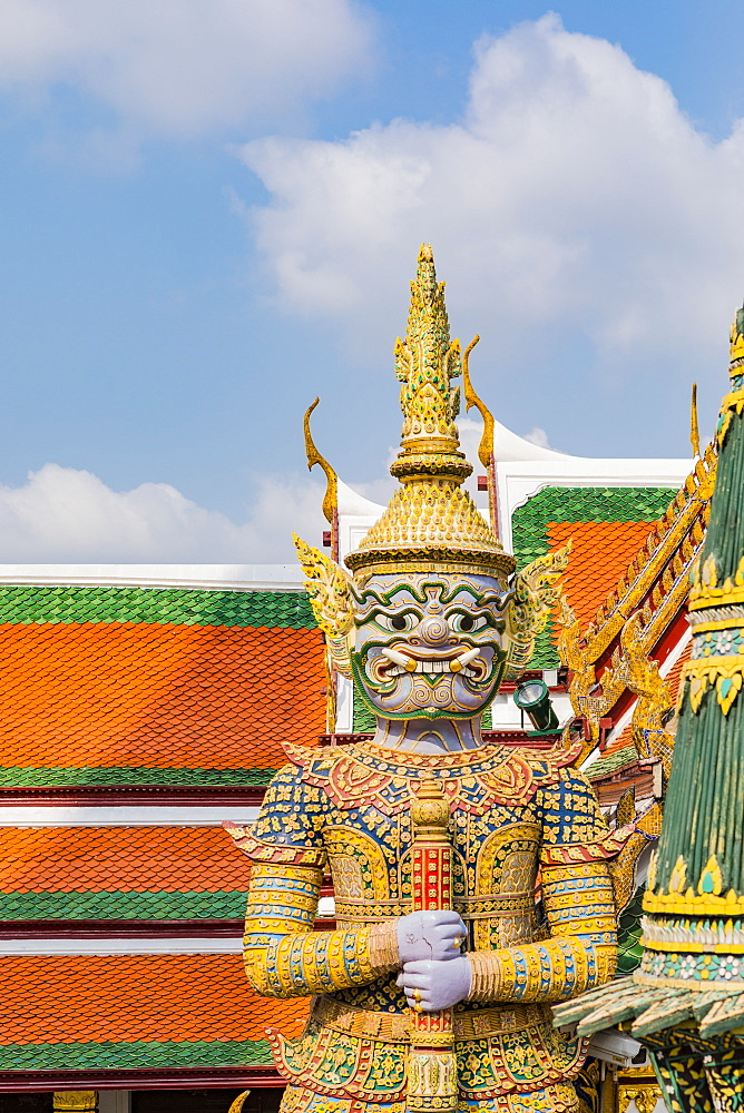 The Grand Palace, Bangkok, Thailand, Southeast Asia, Asia - 1207-702