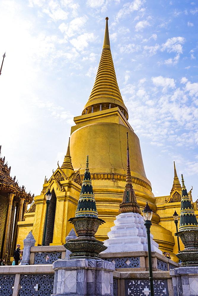 Wat Phra Kaew, The Grand Palace, Bangkok, Thailand, Southeast Asia, Asia - 1207-704
