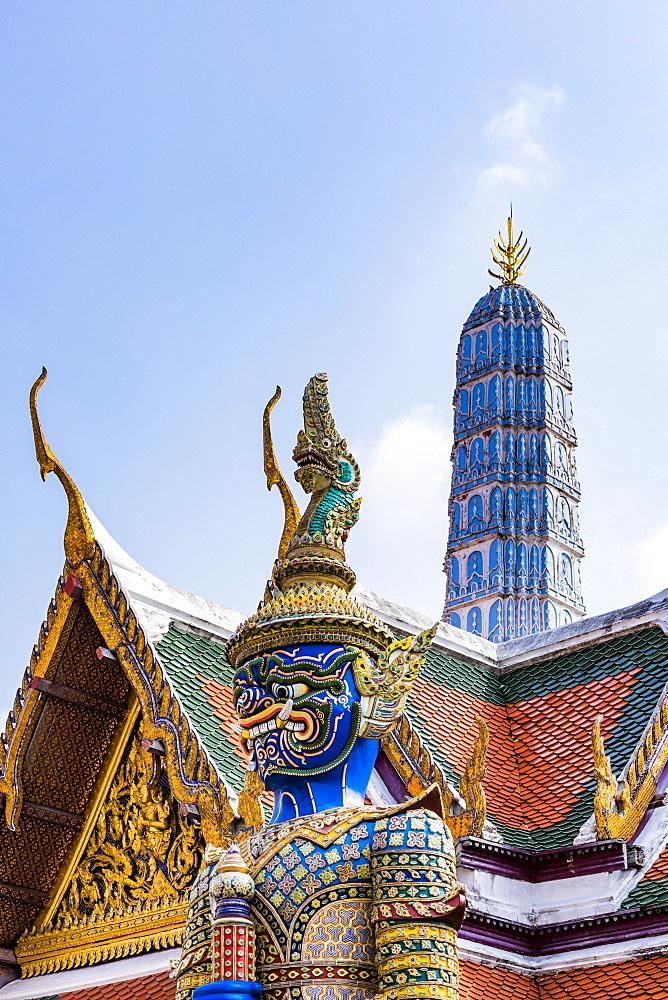 The Grand Palace, Bangkok, Thailand, Southeast Asia, Asia - 1207-709
