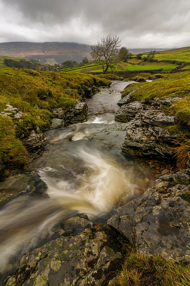 Cray, Wharfedale, Yorkshire Dales, Yorkshire, England, United Kingdom, Europe