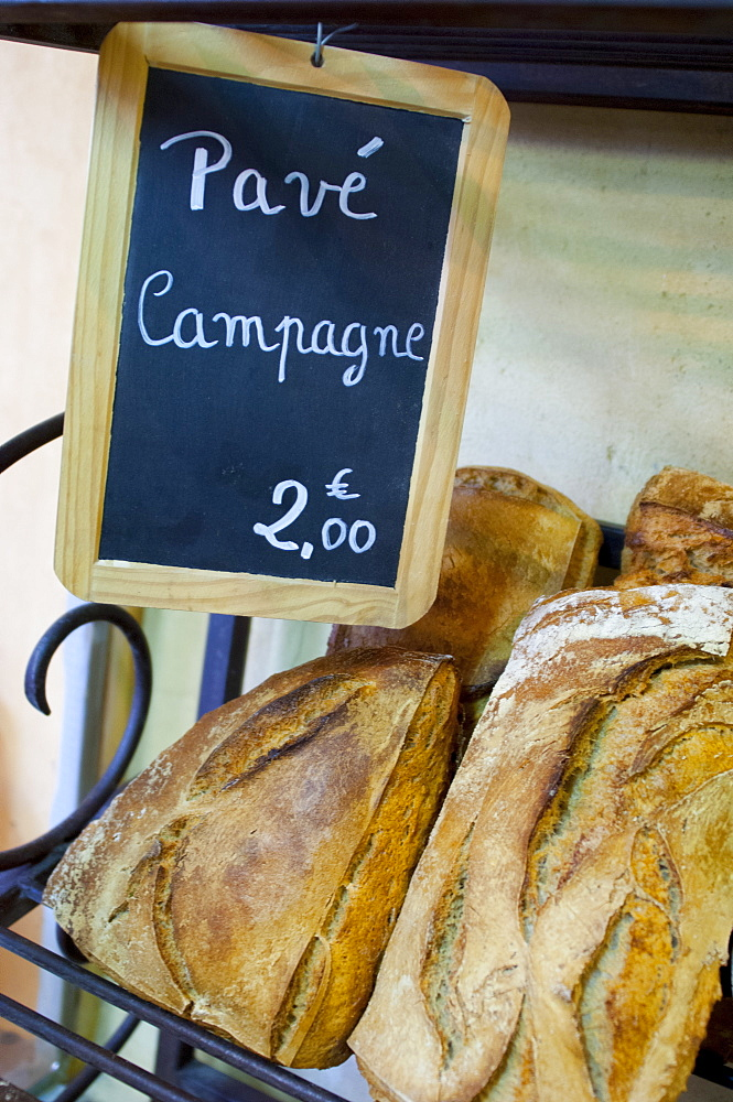 Country bread, France, Europe