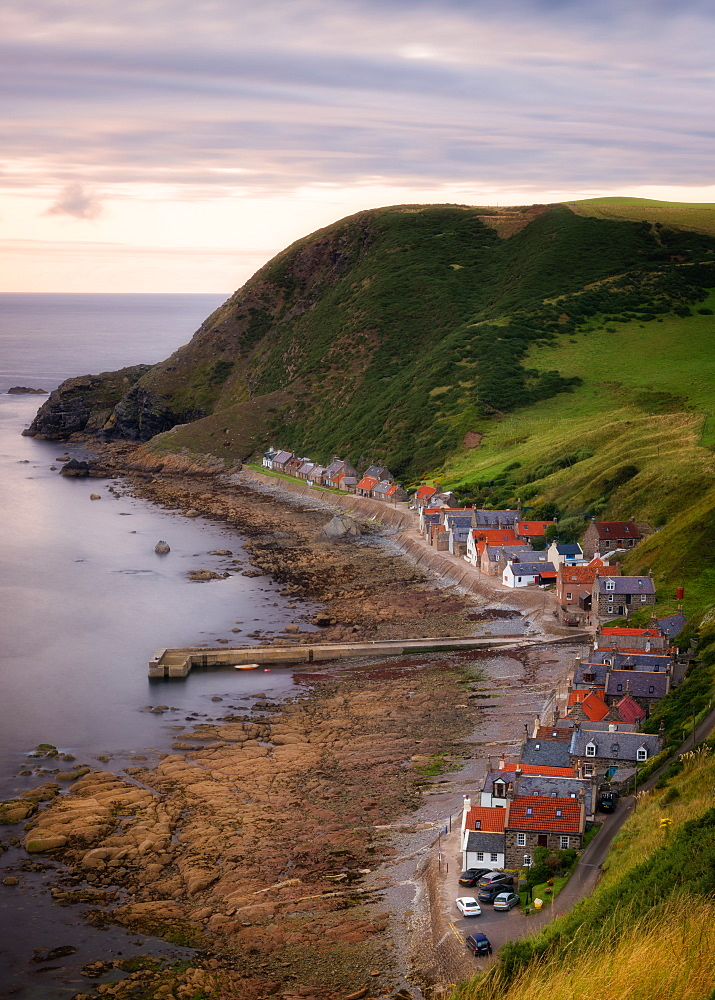 Crovie coastal village, Aberdeenshire, Scotland, United Kingdom, Europe