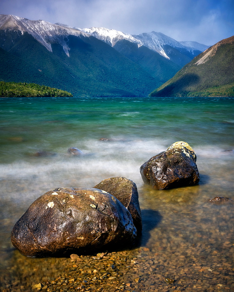 Lake Rotoiti, Nelson Lakes National Park, South Island, New Zealand, Pacific - 1216-305