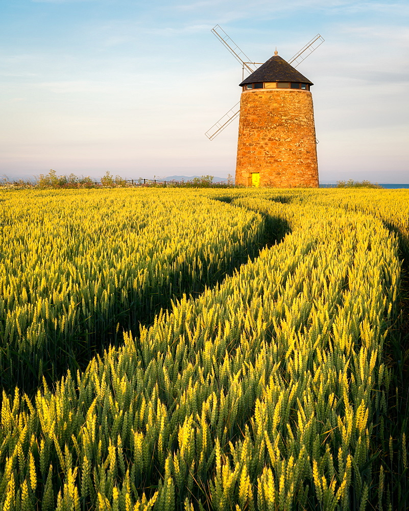 St. Monan's Windmill, Fife, Scotland, United Kingdom, Europe