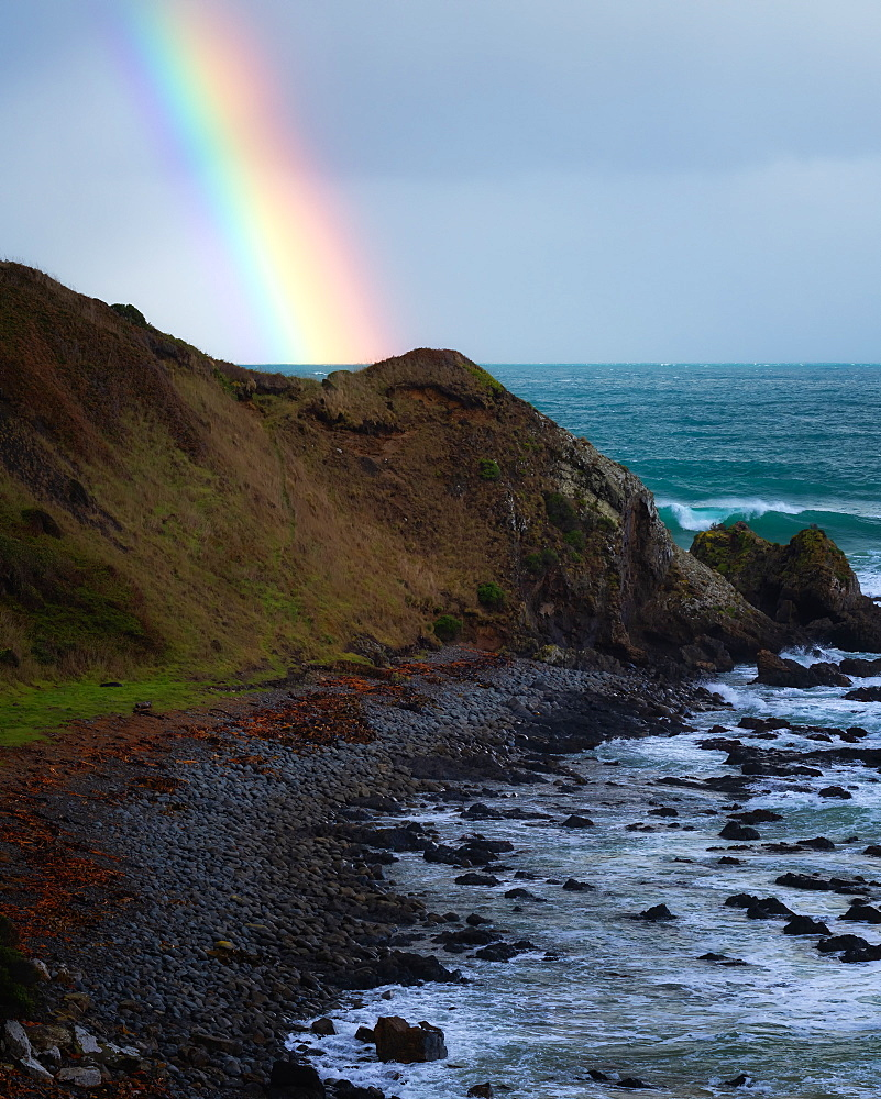New Zealand rainbow, South Island, New Zealand, Pacific - 1216-341