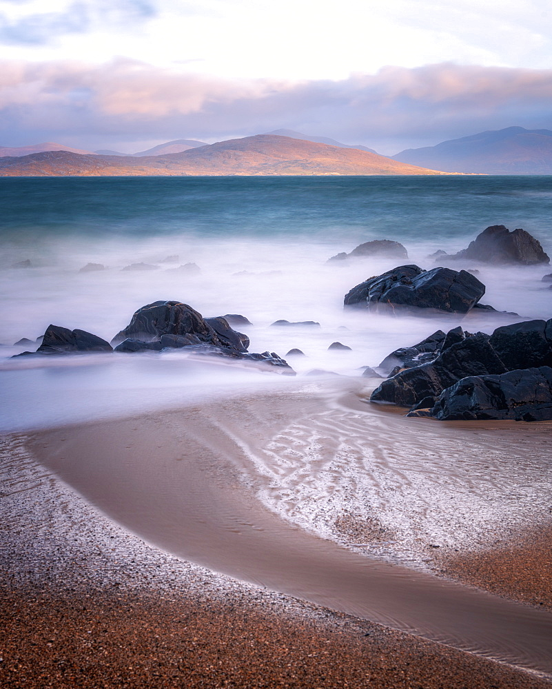 Bagh Steinigidh beach, Isle of Harris, Outer Hebrides, Scotland, UK - 1216-384