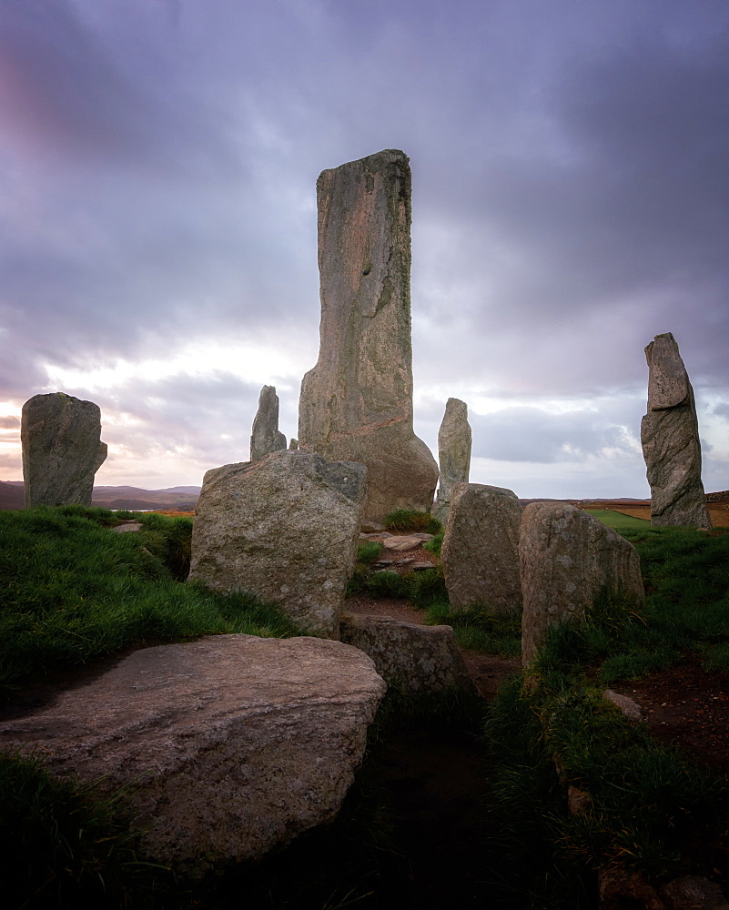 Callanish Standing Stones, Isle of Lewis, Outer Hebrides, Scotland, United Kingdom, Europe