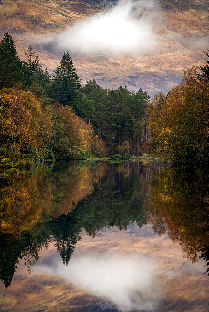 Autumn in Glencoe, Highlands, Scotland, United Kingdom, Europe - 1216-97