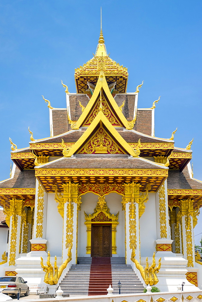Vientiane City Pillar Shrine, Vientiane, Laos, Indochina, Southeast Asia, Asia