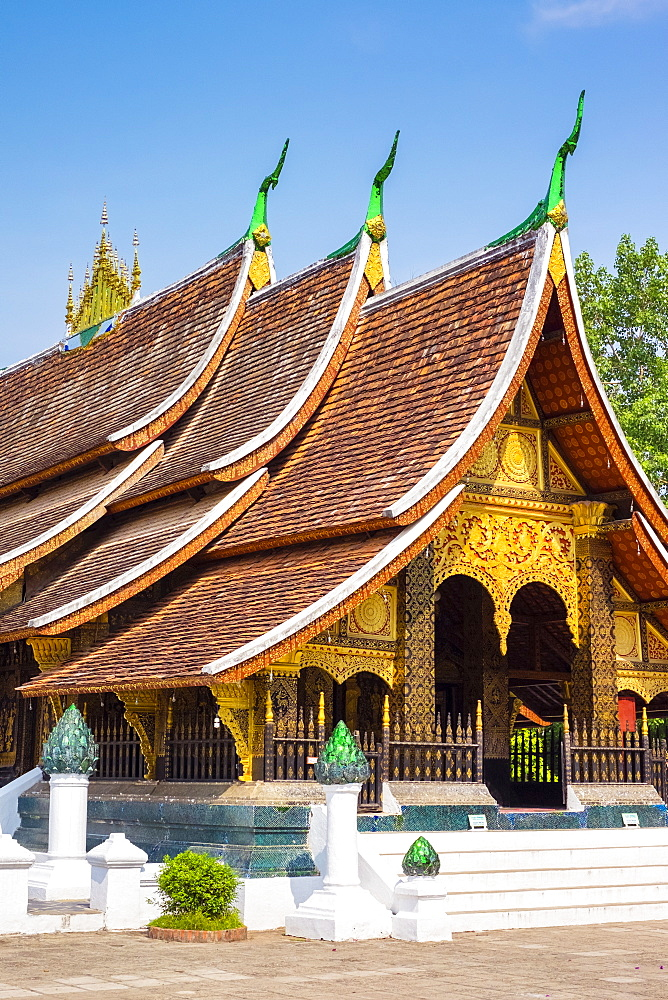 Wat Xieng Thong Buddhist temple, UNESCO World Heritage Site, Luang Prabang, Louangphabang Province, Laos, Indochina, Southeast Asia, Asia