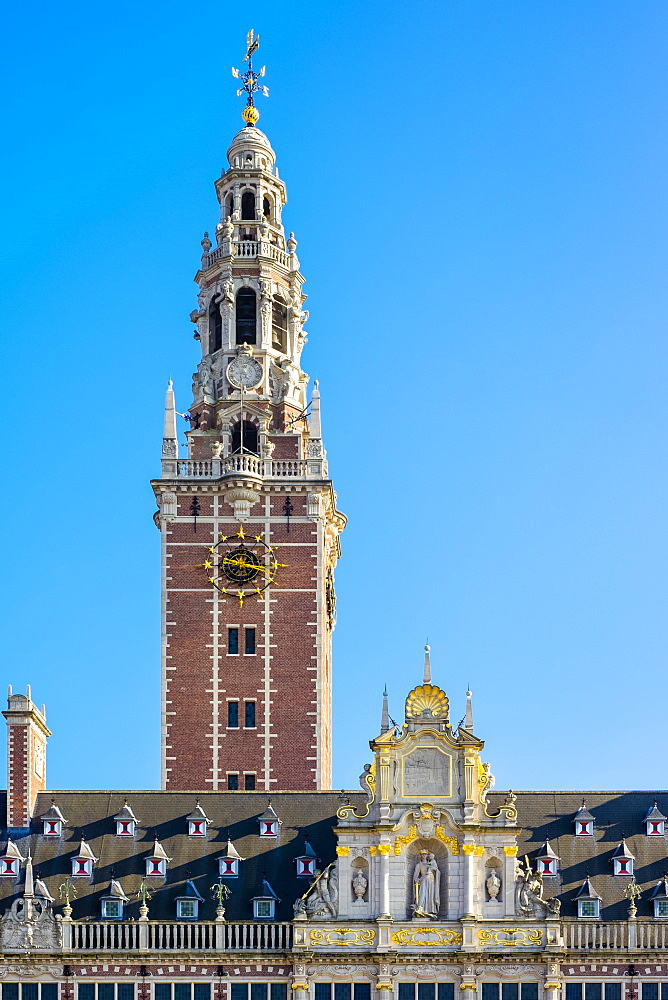 Centrale Bibliotheek (Central Library), Leuven, Flemish Brabant, Flanders, Belgium, Europe - 1217-341