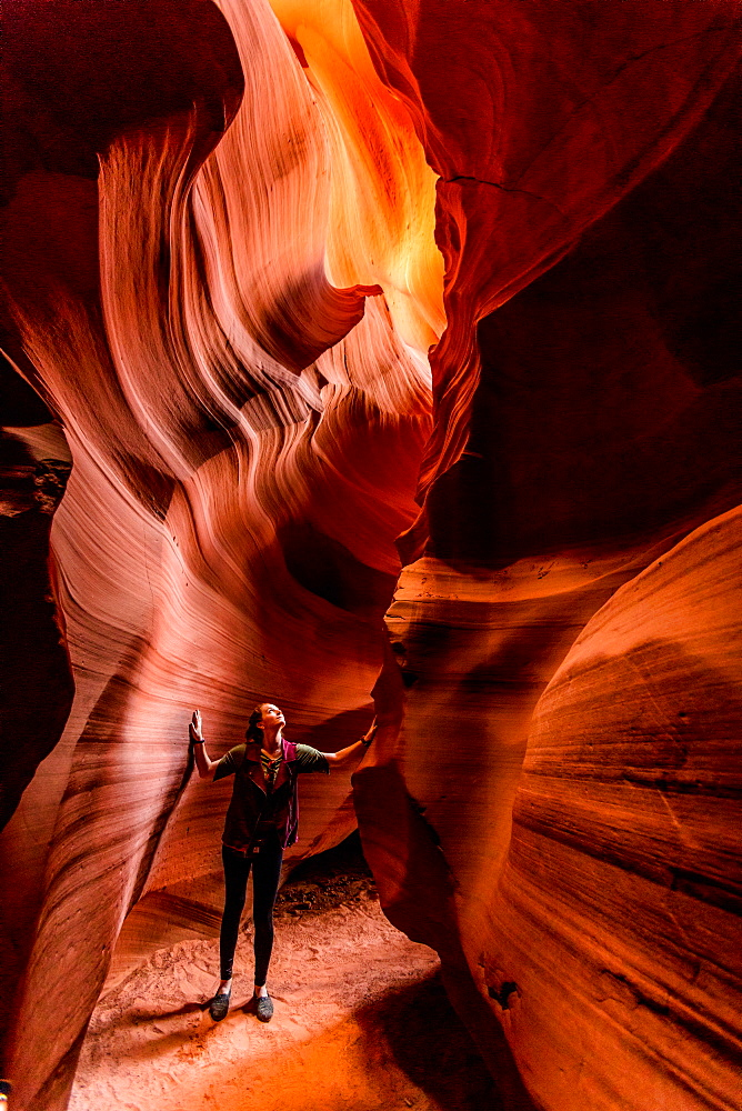 Antelope Canyon, Arizona, United States of America, North America