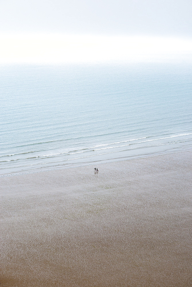 Rhossili Bay on The Gower in South Wales, United Kingdom, Europe
