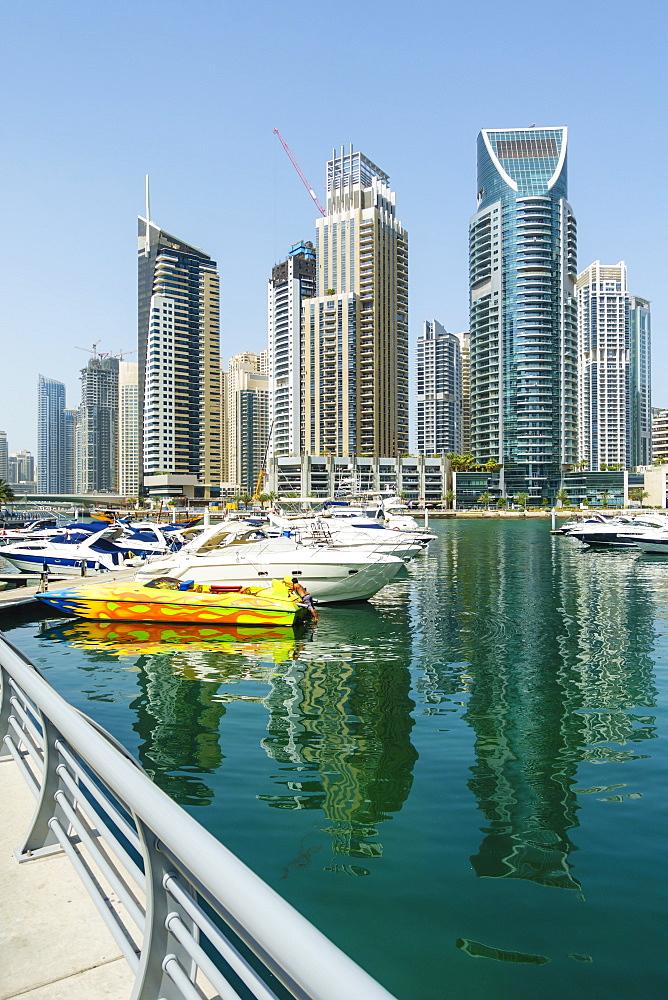 Dubai Marina, Dubai, United Arab Emirates, Middle East - 1226-137